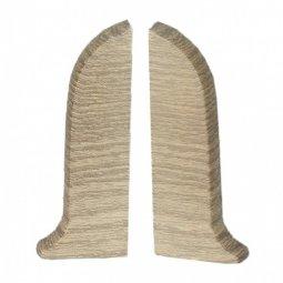 Заглушка торцевая левая и правая (блистер 2 шт.) Salag Ясень Пастель 56