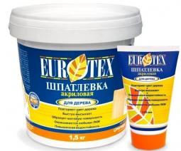 Шпатлевка Eurotex для дерева сосна 1.5 кг