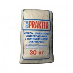 Смесь Bergauf Praktik цементная универсальная с полимерными добавками 30 кг