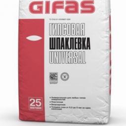 Шпатлевка Gifas Универсал гипсовая 25 кг