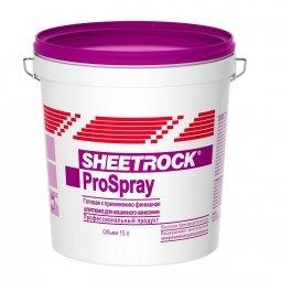 Шпатлевка Sheetrock ProSpray для машинного нанесения 25 кг