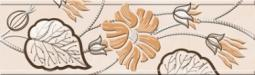 Бордюр Golden Tile Карат бежевый Е91311 200х60