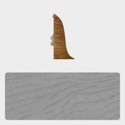 Заглушка торцевая левая (блистер 4 шт.) Т-пласт 036 Дуб Серый