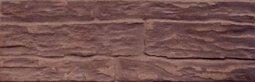 Плитка для стен Сокол Фасад SL2 коричневая матовая 12х36.5