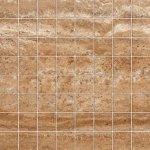 Мозаика Kerranova Terra полированный коричневый 30x30