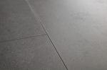 ПВХ-плитка Quick-step Livyn Ambient Click Минеральная крошка серая