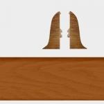 Заглушка левая и правая Т-Пласт 067 Кемпас 58мм (2шт)