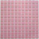 Мозаика Bonаparte Pink glass розовая глянцевая 30x30