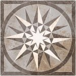 Панно Kerranova Slate матовый темно-серый 120x120