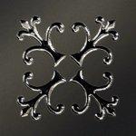 Вставка Керамика Будущего Тулуза черный 6х6 матовый