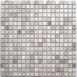 Мозаика Bonаparte Dunes-15 slim (POL) серая полированная 30.5x30.5