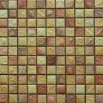 Мозаика Elada Ceramic SH-W2512 желто-коричневый морской микс 30x30