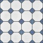 Плитка для пола Сокол Баден-Баден BDF8 орнамент полуматовая 44х44