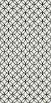 Декор Golden Tile Fabula 285311 Черно-белый 300х600