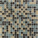 Мозаика Bonаparte Strike Grey бежевая глянцевая 30x30