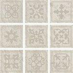 Мозаика Coliseumgres Альпы Белый Фашиа 10x30