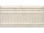 Бордюр Kerama Marazzi Резиденция 19027\3F 20х9.9 беж структурированный