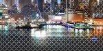 Панно Береза-керамика Колибри Город 4 графитный 25х50