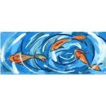 Декор Kerama Marazzi Салерно Рыбки STG\A385\15000 15х40
