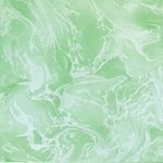 Плитка для пола Сокол Жемчуг MBR7 зеленая глянцевая 33х33