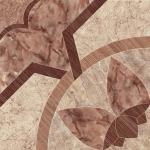 Плитка для пола Cersanit Castello CS4E392-41 светло-коричневый 44x44