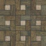Мозаика Kerranova Timber структурированный черный орех 30x30