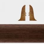 Заглушка левая и правая Т-Пласт 111 Орех Американский 58мм (2шт)