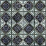 Плитка для пола Сокол Баден-Баден BDR8 орнамент полуматовая 44х44