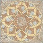Панно Kerranova Premium marble полированный бежево-серый 120x120