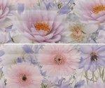 Панно Gracia Ceramica Aquarelle lilac panno 01 60х50