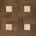 Керамогранит Italon Natural Life Wood НЛ-Вуд Пэппер Вставка Гламур 45х45